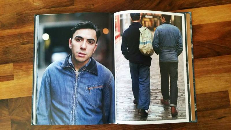 Rebel Style Denim Book by Horst Friedrichs long john blog jeans 2014 uk london selvage selvedge red line fabric raw rigid unwashed worn-out projects blue scene punk bikers authentic (4)