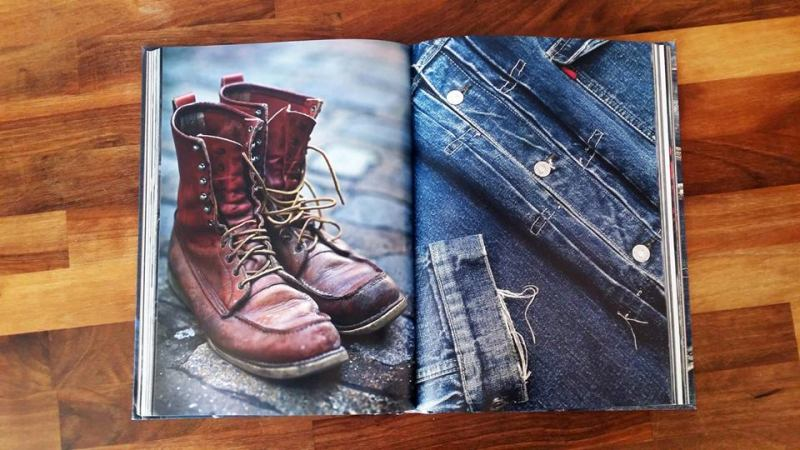 Rebel Style Denim Book by Horst Friedrichs long john blog jeans 2014 uk london selvage selvedge red line fabric raw rigid unwashed worn-out projects blue scene punk bikers authentic (8)
