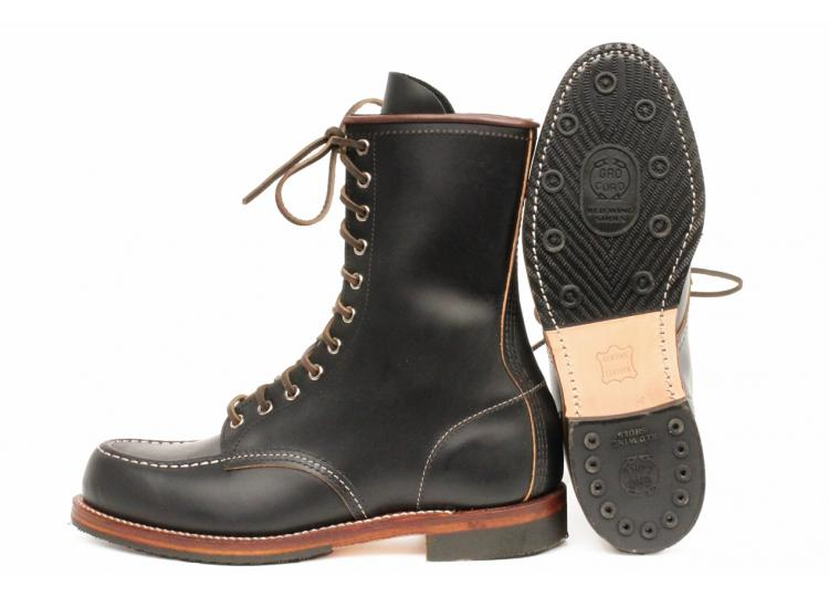 Red Wing Shoes 2015 Huntsman Boot in Black Klondike long john blog boots usa goodyear welted handmade leather rw redwing redwings laces new limited edition (4)