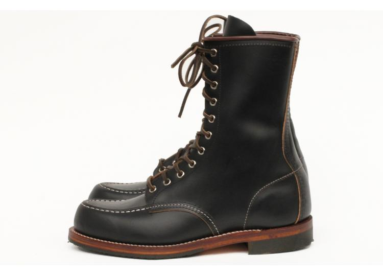 Red Wing Shoes 2015 Huntsman Boot in Black Klondike long john blog boots usa goodyear welted handmade leather rw redwing redwings laces new limited edition (5)