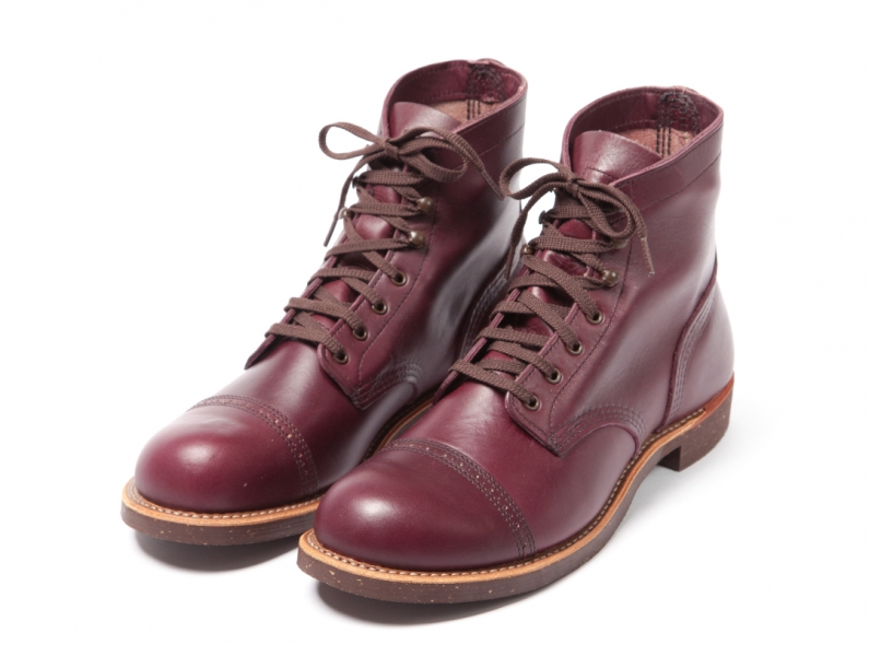 Red Wing Shoes 8012 Munson Ranger Burgundy Settler long john blog usa boots goodyear welted handmade army miners leather tanned 2014 spring summer  (1)