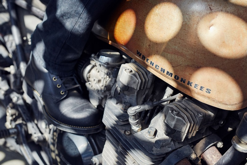 Red-Wing-Wrenchmonkees-boots long john blog collab usa workwear black bikers bikes usa goodyear welted rough leather limited 666 pairs only 2015 denmark  (3)