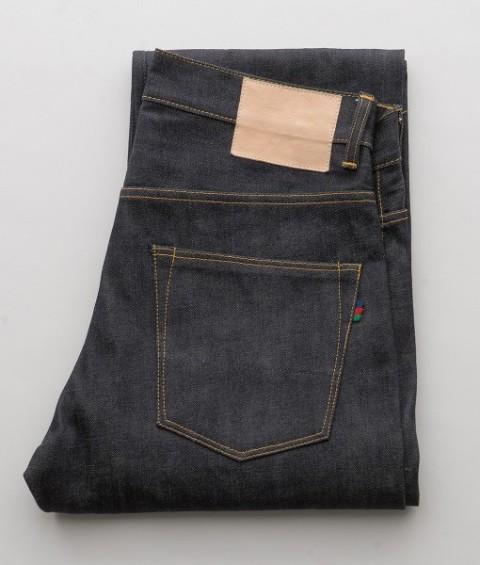Sarva Jeans Riekte Sami Selvedge selvage long john blog sweden denim jeans rigid raw unwashed kaihara fabric japan natural deer leather 5 pocket yoke seam buttons coin pocket rivets jacob davis patch labels (9)