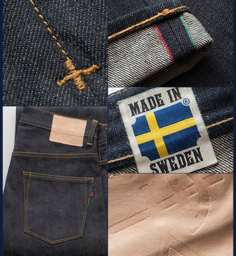 Sarva denim sweden long john blog denim demon 2014 spring summer 2015 raw rigid selvage