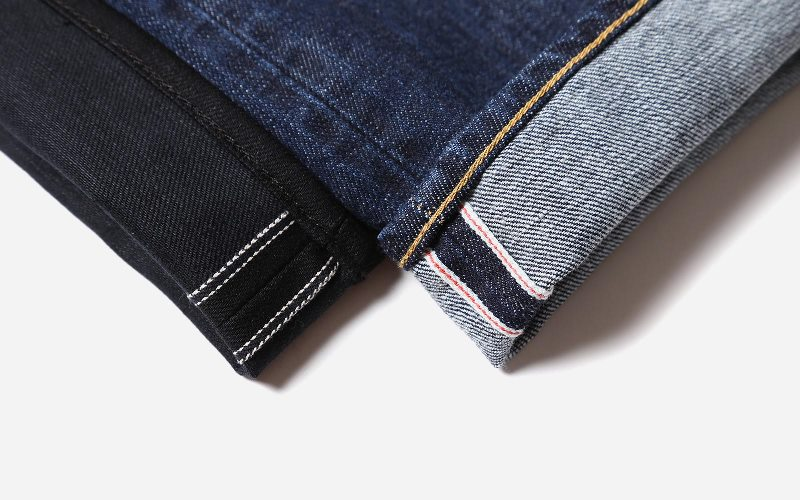Selvage, Selvedge, Self Edge edwin jeans japan long john blog denim blue indigo shuttle loom authentic old school blue gold (3)