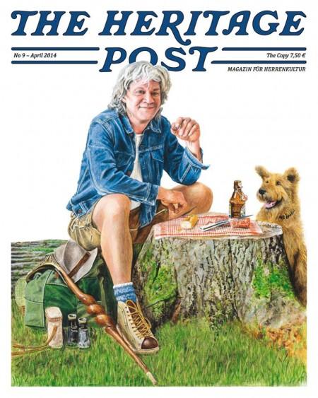 The Heritage Post magazine April 2014 long john blog germany uwe van afferden store shop authentic lifestyle men raw jeans denim blue