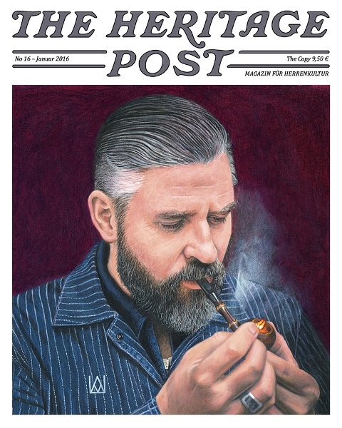 The Heritage Post magazine no 16 january 2016 long john blog denim jeans clothing uwe van afferden