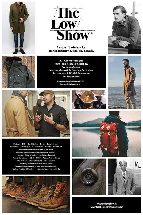 The Low Show long john blog tradeshow amsterdam nl brands fair clothing jeans denim boots jackets jack westergasfabriek