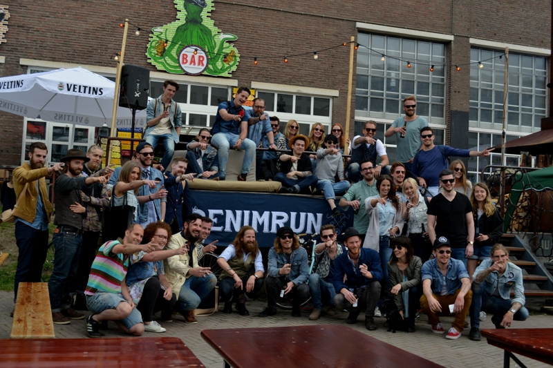 The denim run eindhoven holland long john blog wing mok emiel gerardu south of holland bikers bicycle customized fixies ketelhuis bbq strijp-s part 2 second edition wheels denim people denimheads blue raw rigid  ( (32)