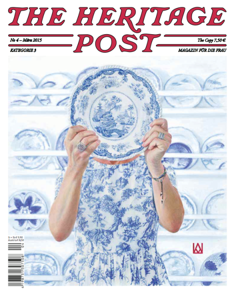 The heritage post women no. 4 number 4 long john blog magazine mag print clothing store lifestyle authentic heritage