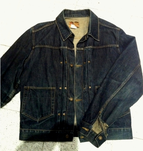 Trevor Lough pepe jeans miner jacket 1998 16 years old still inwashed long  john ... 164ff7e29a