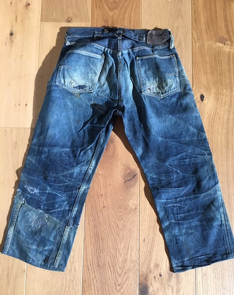 antonio di battista long john italy jeans denim denicmarchive denimcollector meet the collector selvage selvedge blue blanket (10)