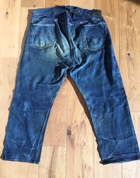 antonio di battista long john italy jeans denim denicmarchive denimcollector meet the collector selvage selvedge blue blanket (144)