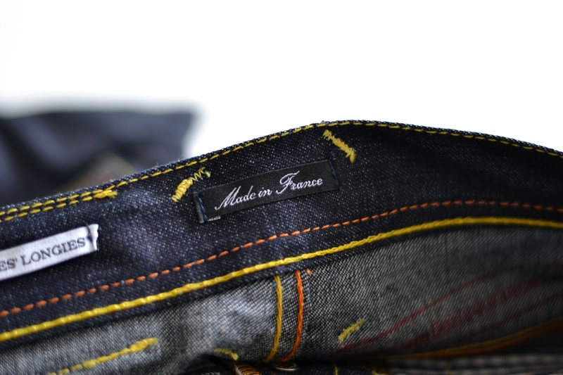 atelier ladurance long john blog kiddies jeans denim gerard backx blue rigid raw non-selvage worker workwear repair bullit leather patch forties square pockets japanese fabric (12)