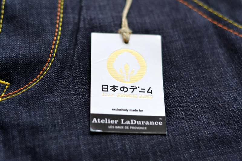 atelier ladurance long john blog kiddies jeans denim gerard backx blue rigid raw non-selvage worker workwear repair bullit leather patch forties square pockets japanese fabric (8)