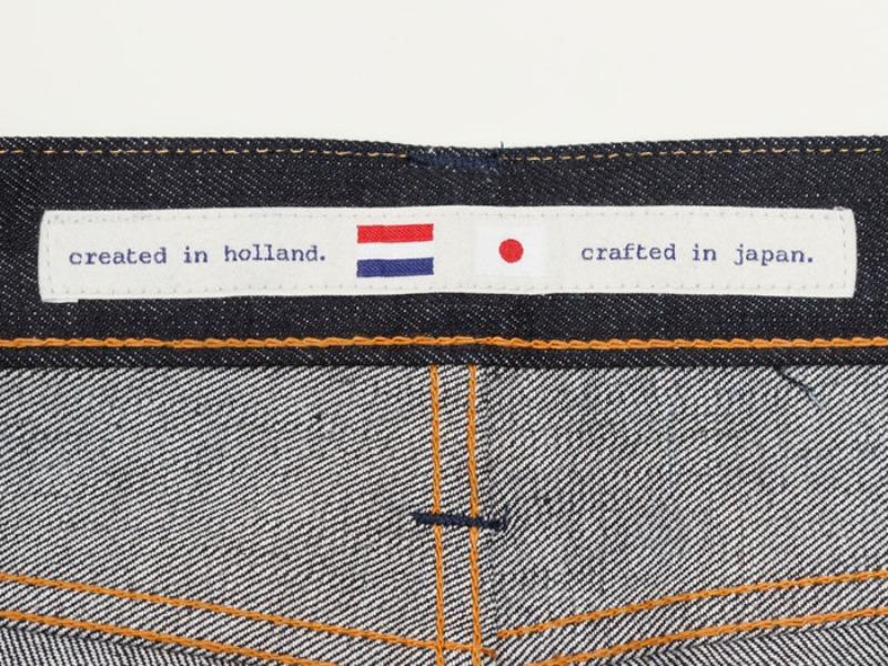 benzak denim developers lennaert nijgh long john blog jeans raw rigid holland handmade blue faded amsterdam holland rivets buttons selvage selvedge leather patch crowd funding 2 2014 (14)