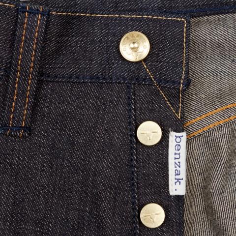 benzak denim developers lennaert nijgh long john blog jeans raw rigid holland handmade blue faded amsterdam holland rivets buttons selvage selvedge leather patch crowd funding 2 2014 (24)
