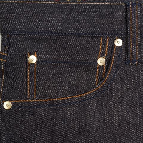 benzak denim developers lennaert nijgh long john blog jeans raw rigid holland handmade blue faded amsterdam holland rivets buttons selvage selvedge leather patch crowd funding 2 2014 (25)