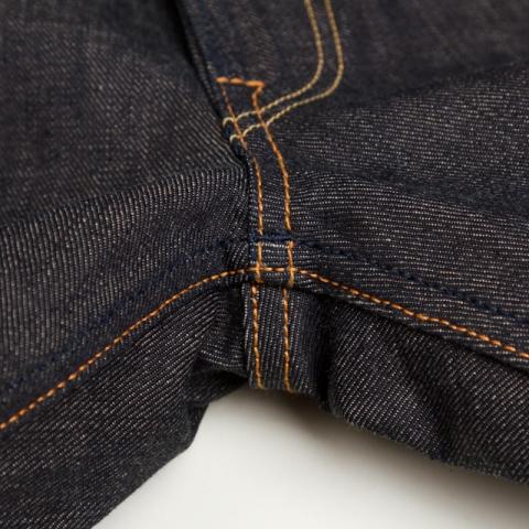 benzak denim developers lennaert nijgh long john blog jeans raw rigid holland handmade blue faded amsterdam holland rivets buttons selvage selvedge leather patch crowd funding 2 2014 (26)