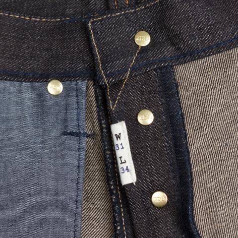 benzak denim developers lennaert nijgh long john blog jeans raw rigid holland handmade blue faded amsterdam holland rivets buttons selvage selvedge leather patch crowd funding 2 2014 (29)