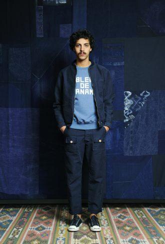bleu de paname longjohnblog long john blue indigo clothingbrand clothing brand jeans top shirts t-shirt sweat sweats paris france spring summer 2017 (13)