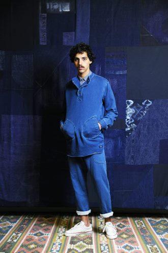 bleu de paname longjohnblog long john blue indigo clothingbrand clothing brand jeans top shirts t-shirt sweat sweats paris france spring summer 2017 (6)