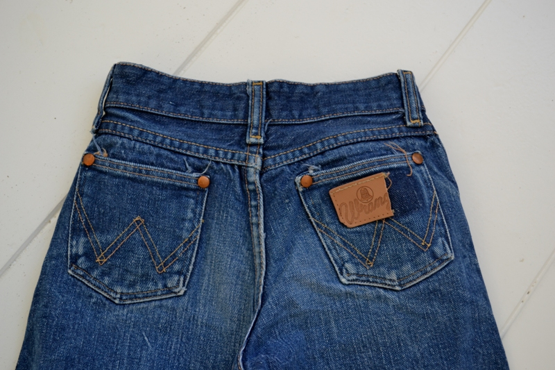 blue bell wrangler jeans denim long john blog wouter munnichs usa handmade non selvage zipper 5 pocket kids vintage private collection left hand fabric worn-out (12)