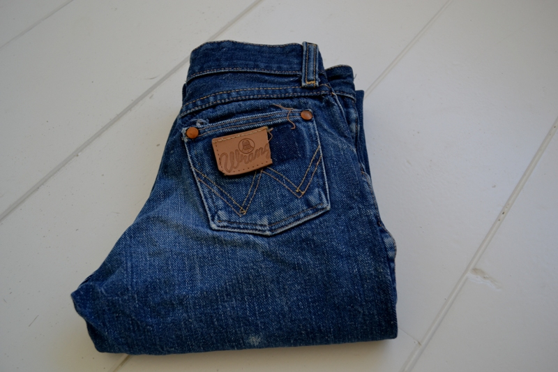 blue bell wrangler jeans denim long john blog wouter munnichs usa handmade non selvage zipper 5 pocket kids vintage private collection left hand fabric worn-out (2)