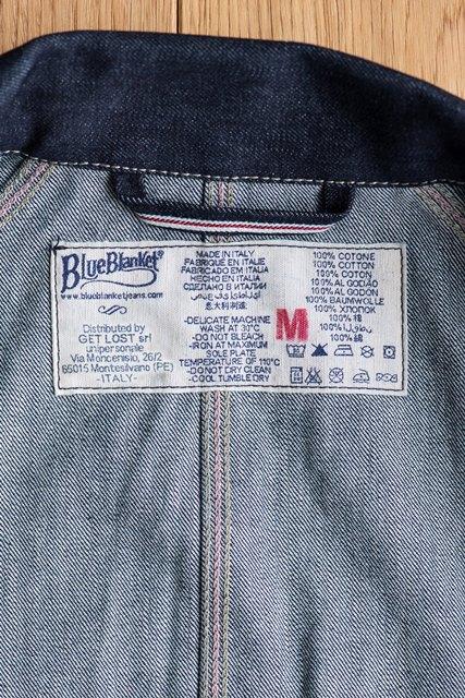blue blanket jeans denim antonio di battista longjohn long john collection italy japan selvage selvedge jacket jack jeans indigo 2017 spring summer (13)