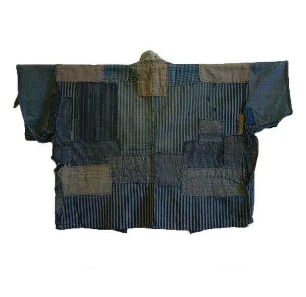 boro japan long john blog authentic patch repair clothing blue indigo workwear fisherman farmers  (10)