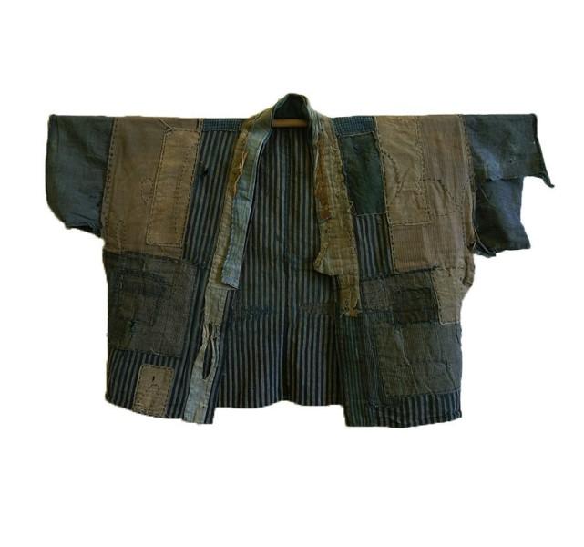 boro japan long john blog authentic patch repair clothing blue indigo workwear fisherman farmers  (2)