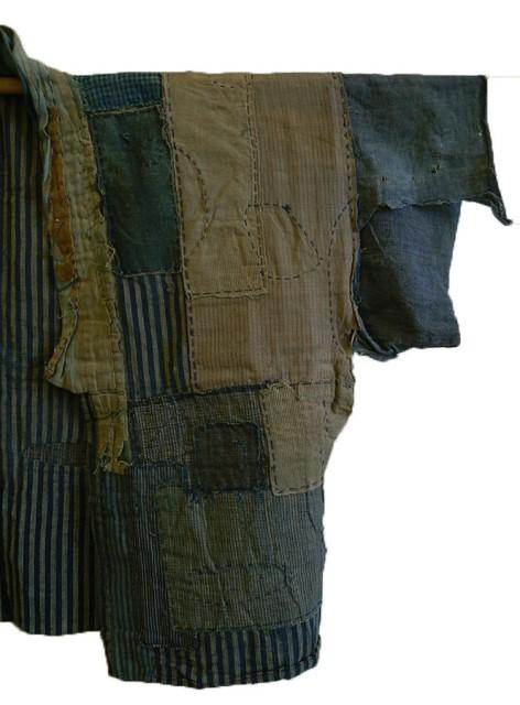 boro japan long john blog authentic patch repair clothing blue indigo workwear fisherman farmers  (3)