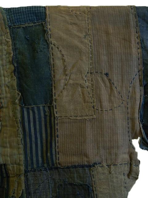 boro japan long john blog authentic patch repair clothing blue indigo workwear fisherman farmers  (4)