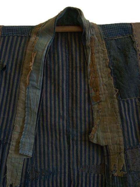 boro japan long john blog authentic patch repair clothing blue indigo workwear fisherman farmers  (5)