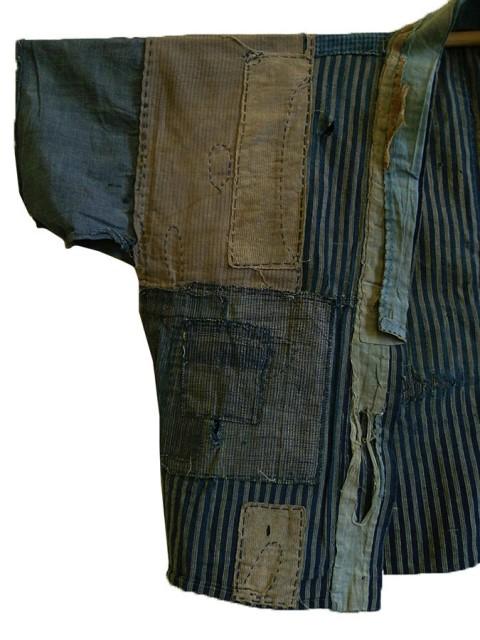 boro japan long john blog authentic patch repair clothing blue indigo workwear fisherman farmers  (7)