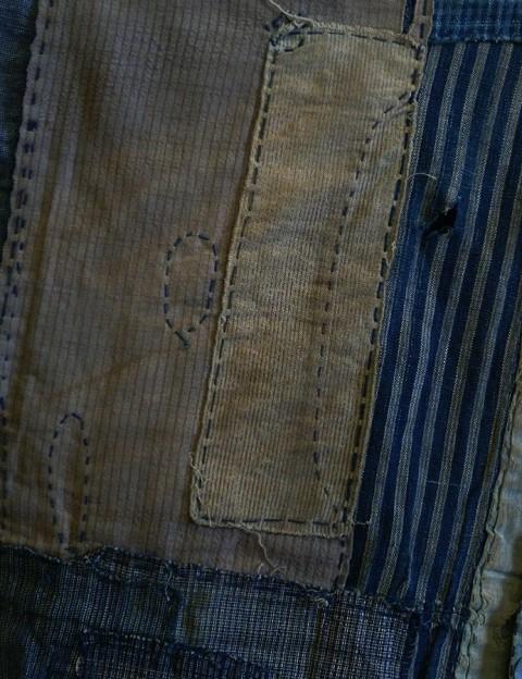 boro japan long john blog authentic patch repair clothing blue indigo workwear fisherman farmers  (8)