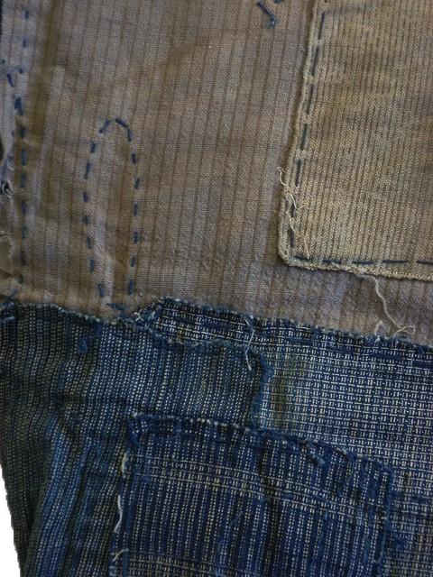 boro japan long john blog authentic patch repair clothing blue indigo workwear fisherman farmers  (9)