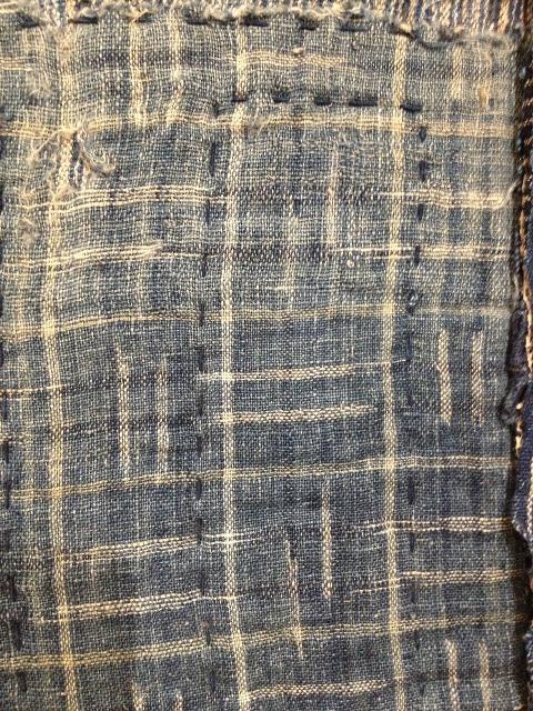 boro rags japan authentic fisherman farmers clothing long john blog blue sashiko stiching raw jeans denim blue 1900 old worn-out faded shit denim (2)