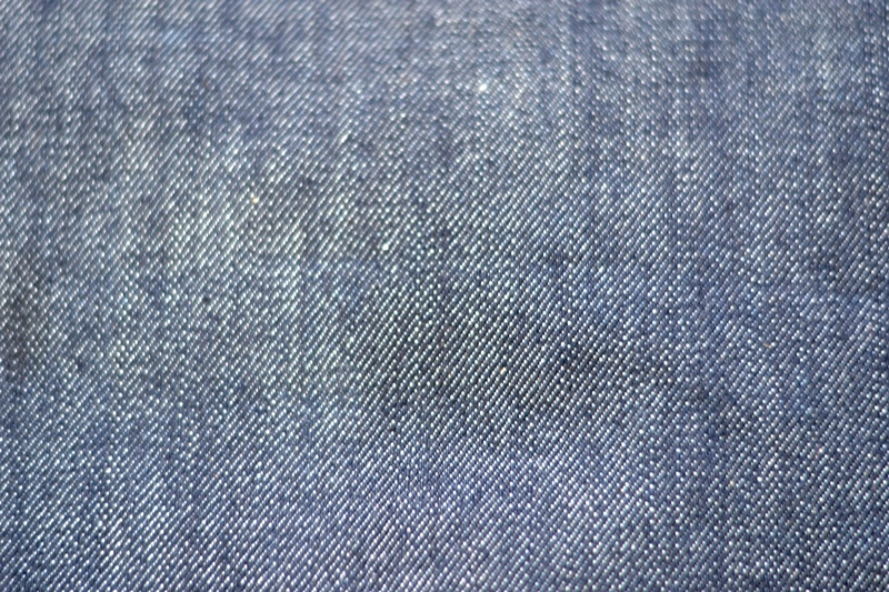 brave star denim jeans long john blog blue raw rigid unwashed selvage selvedge buttons 5 pocket rigid usa cone mills fabric usa made handmade blauw spijkerbroek review leather patch chainstitch indigo (15)