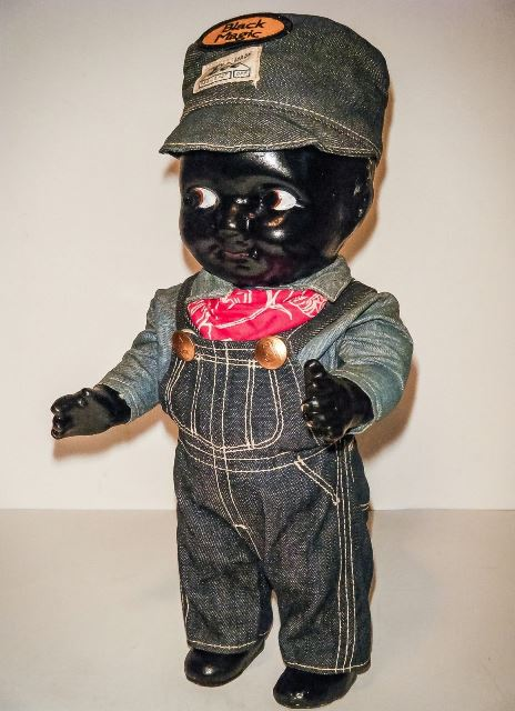 buddy lee black long john blog rare vintage original item lee jeans usa western doll 1920 (3)