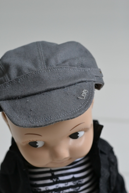 buddy lee jeans denim long john blog doll 1920 promo material not for sale limited edition authentic david henri lee plastic original usa special fabric blue (5)