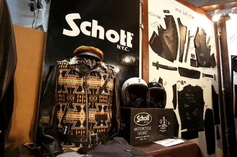 clutch magazine long john blog event fair tradeshow japan clothing industry jeans denim leather jackets bikes mens file nick clement yokohama 2015 cc show schott boot workwear clothing sneakers  (9)