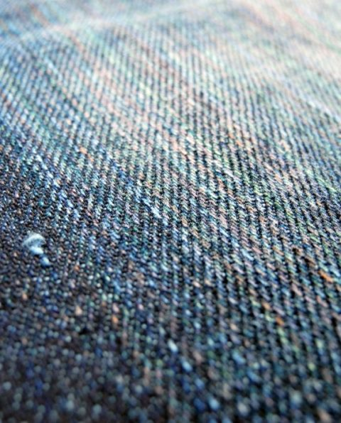 companion denim longjohn blogger blog joel 012N-5 bespoke jeans handmade selvage selvedge rainbow fabric aged ageing fades fade blue spijkerbroek blauw goud (1)