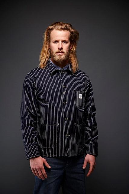 dawson denim jackets uk long john blog indigo blue workwear handmade jeans chore jackets selvage selvedge plain redline redlisting redlisted (2)