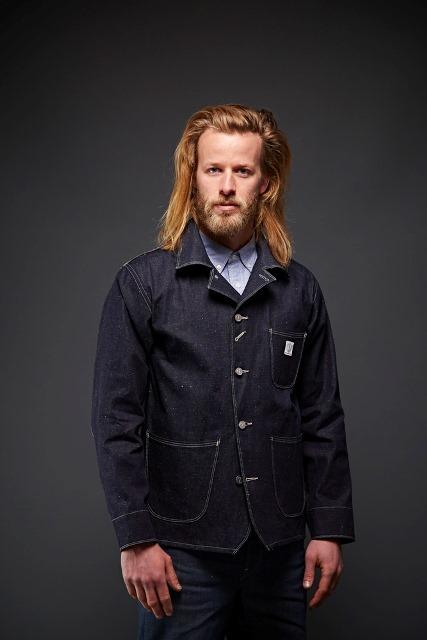 dawson denim jackets uk long john blog indigo blue workwear handmade jeans chore jackets selvage selvedge plain redline redlisting redlisted (3)