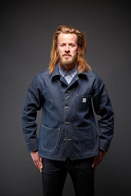 dawson denim jackets uk long john blog indigo blue workwear handmade jeans chore jackets selvage selvedge plain redline redlisting redlisted (4)