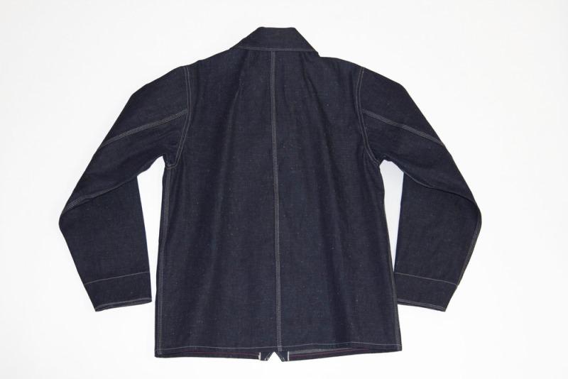 dawson denim jackets uk long john blog indigo blue workwear handmade jeans chore jackets selvage selvedge plain redline redlisting redlisted (7)