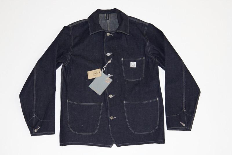dawson denim jackets uk long john blog indigo blue workwear handmade jeans chore jackets selvage selvedge plain redline redlisting redlisted (8)