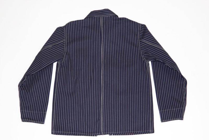 dawson denim jackets uk long john blog indigo blue workwear handmade jeans chore jackets selvage selvedge plain redline redlisting redlisted (9)
