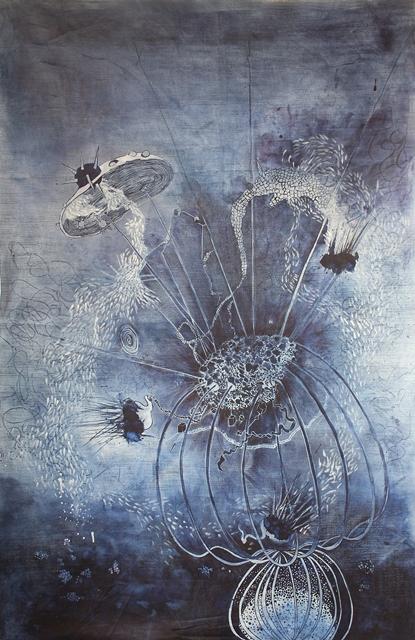 de ver azul artist long john blog jeans denim blue raw unwashed rigid blauw kunstwerk kunst colombia medellin juan manuel gomez painter art  (2)